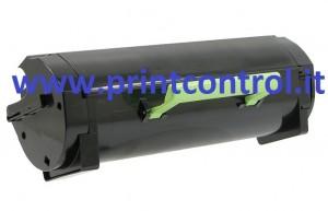 51F2H00/50F2H00 - Toner Nero compatibile per Lexmark MS 310/312/410/415/510/610 (5.000 stampe al 5% di copertura)